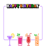 Happy Birthday Drinks