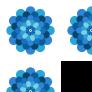 Cobalt Blue Flower