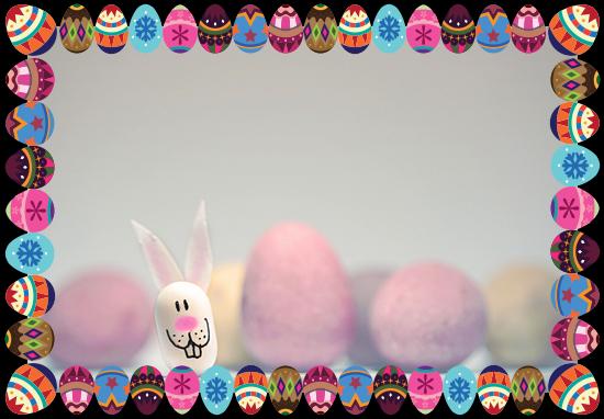 Photo frames for Easter with ImageFramer