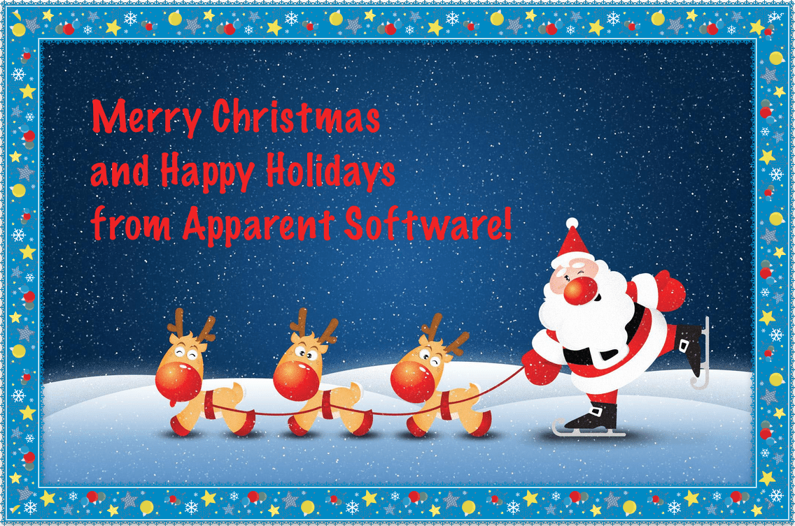 Merry Christmas from Apparent Software