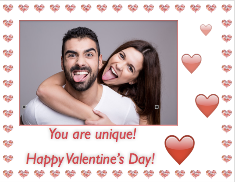 How to make a unique Valentine's card