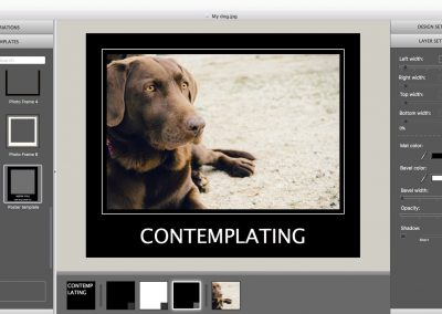 Photography portfolios with ImageFramer