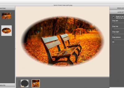 Mask frames in ImageFramer