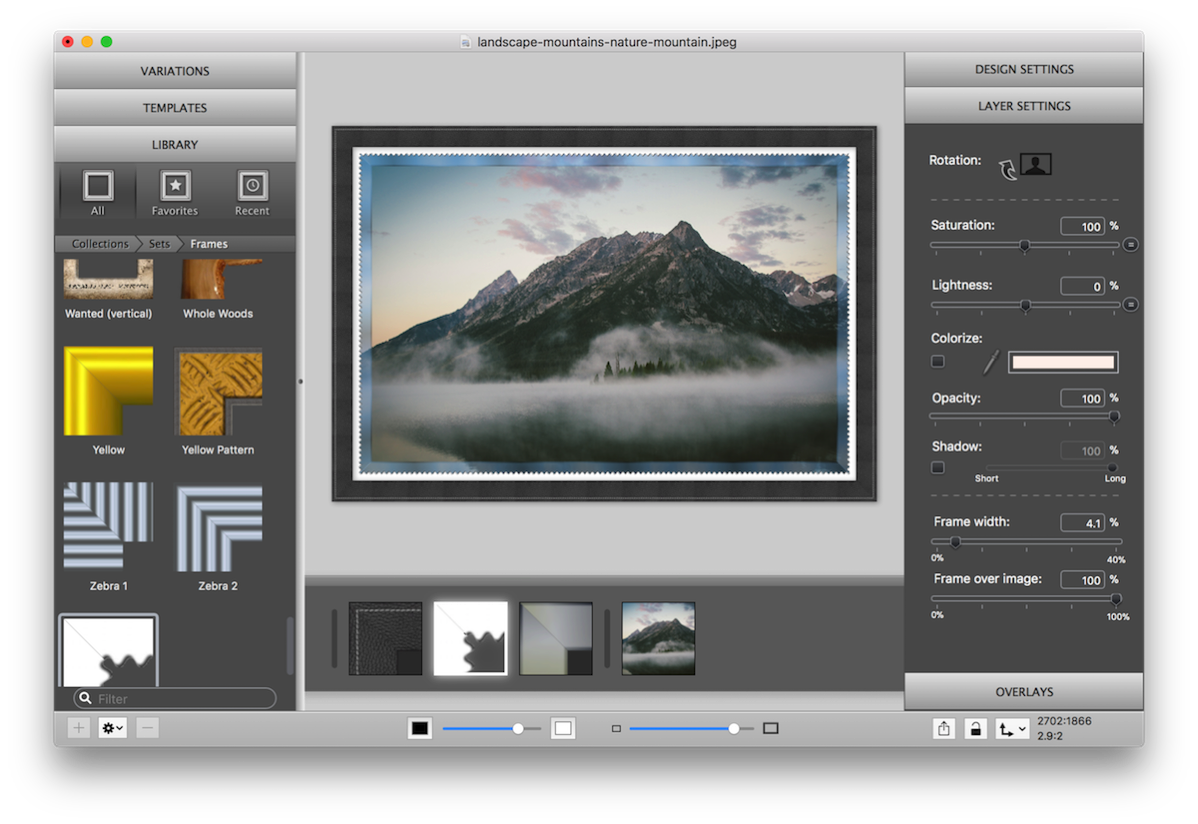 Tutorials — ImageFramer for Mac