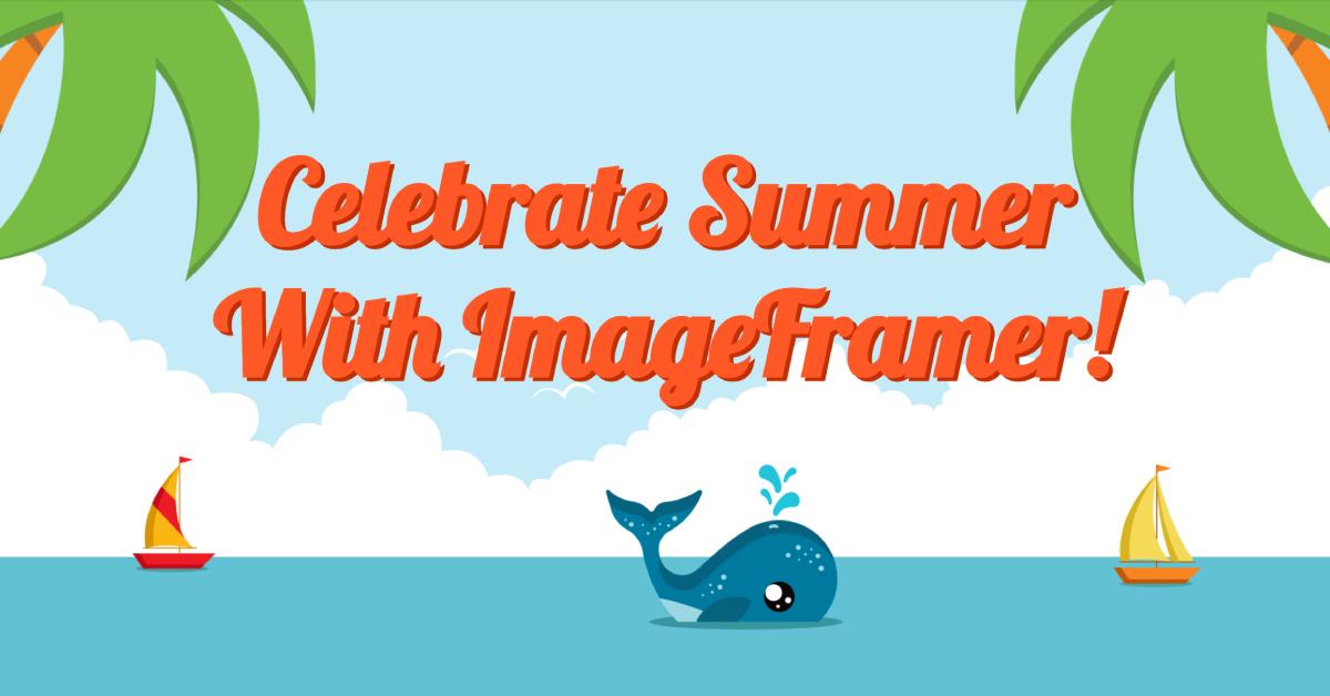 Summer Frames Pack for ImageFramer 4
