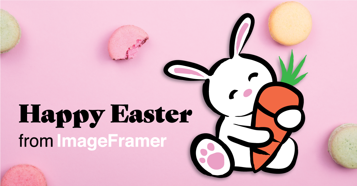 Enjoy 8 new Easter designs