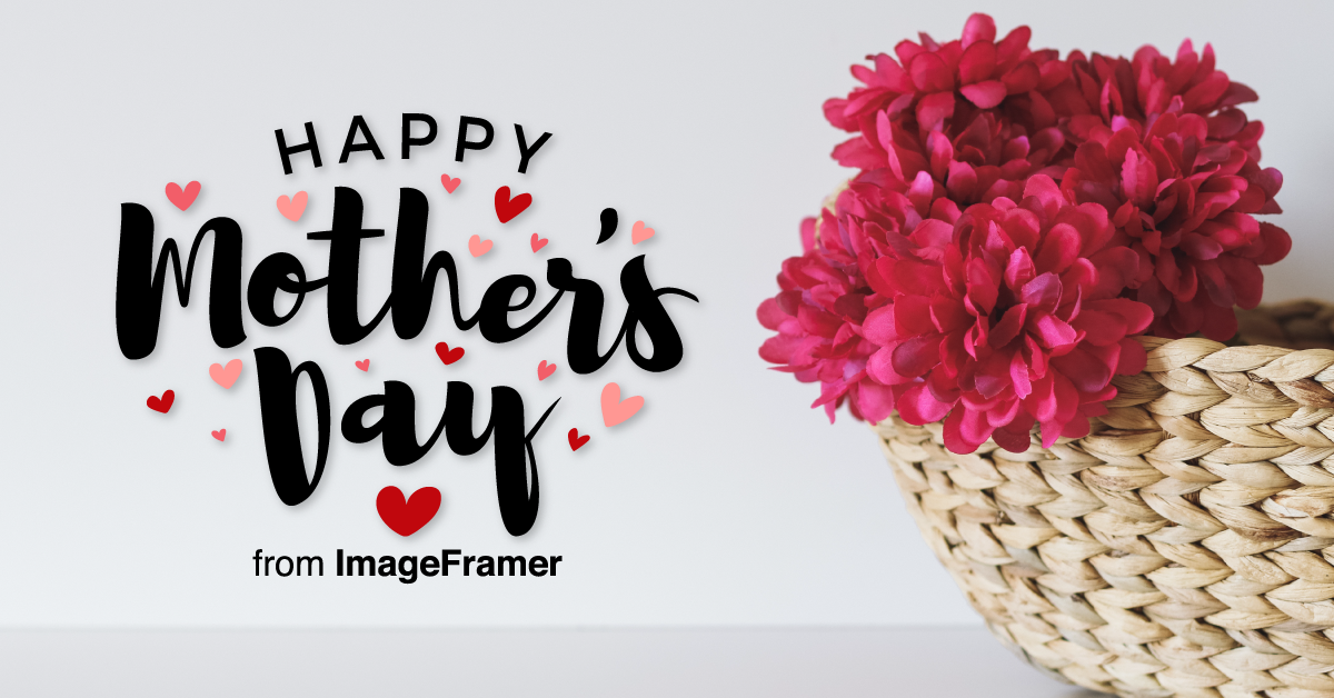 Create Mother's Day cards with ImageFramer