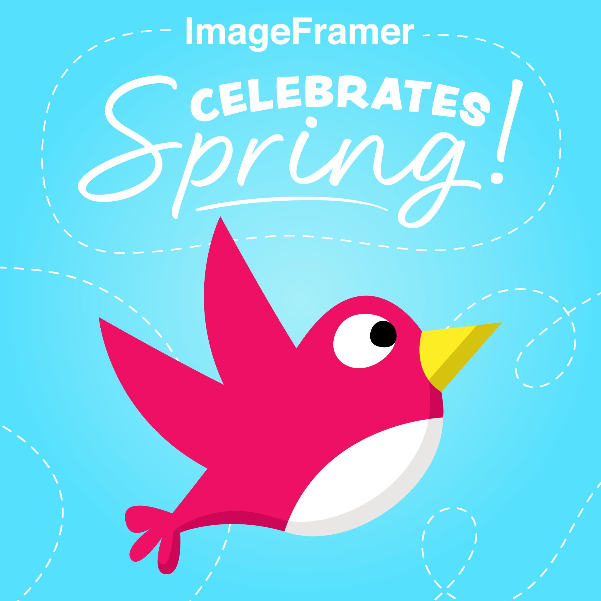Introducing the ImageFramer Celebrates Spring Sticker Pack