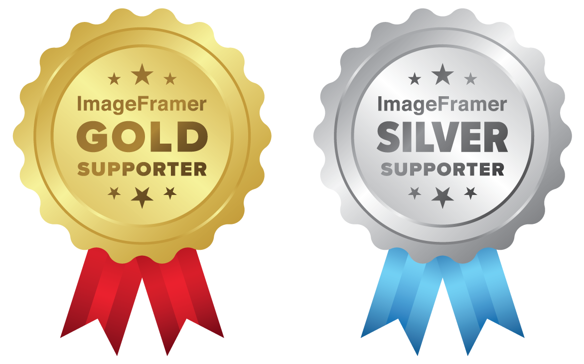 ImageFramer Supporter Badges