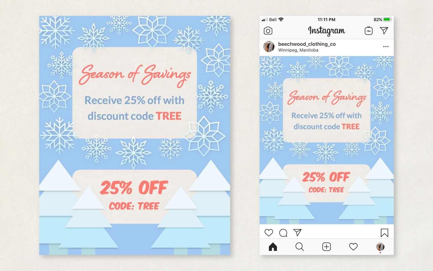 How to create a promo for social media with ImageFramer