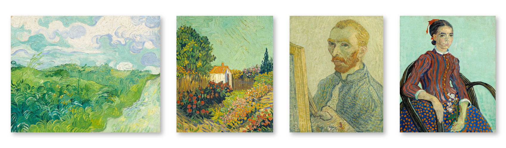 Artworks produced by Vincent Van Gogh