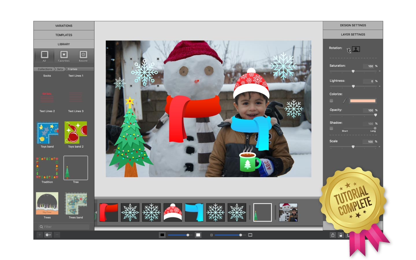 Etsy sticker overlay tutorial completed with ImageFramer