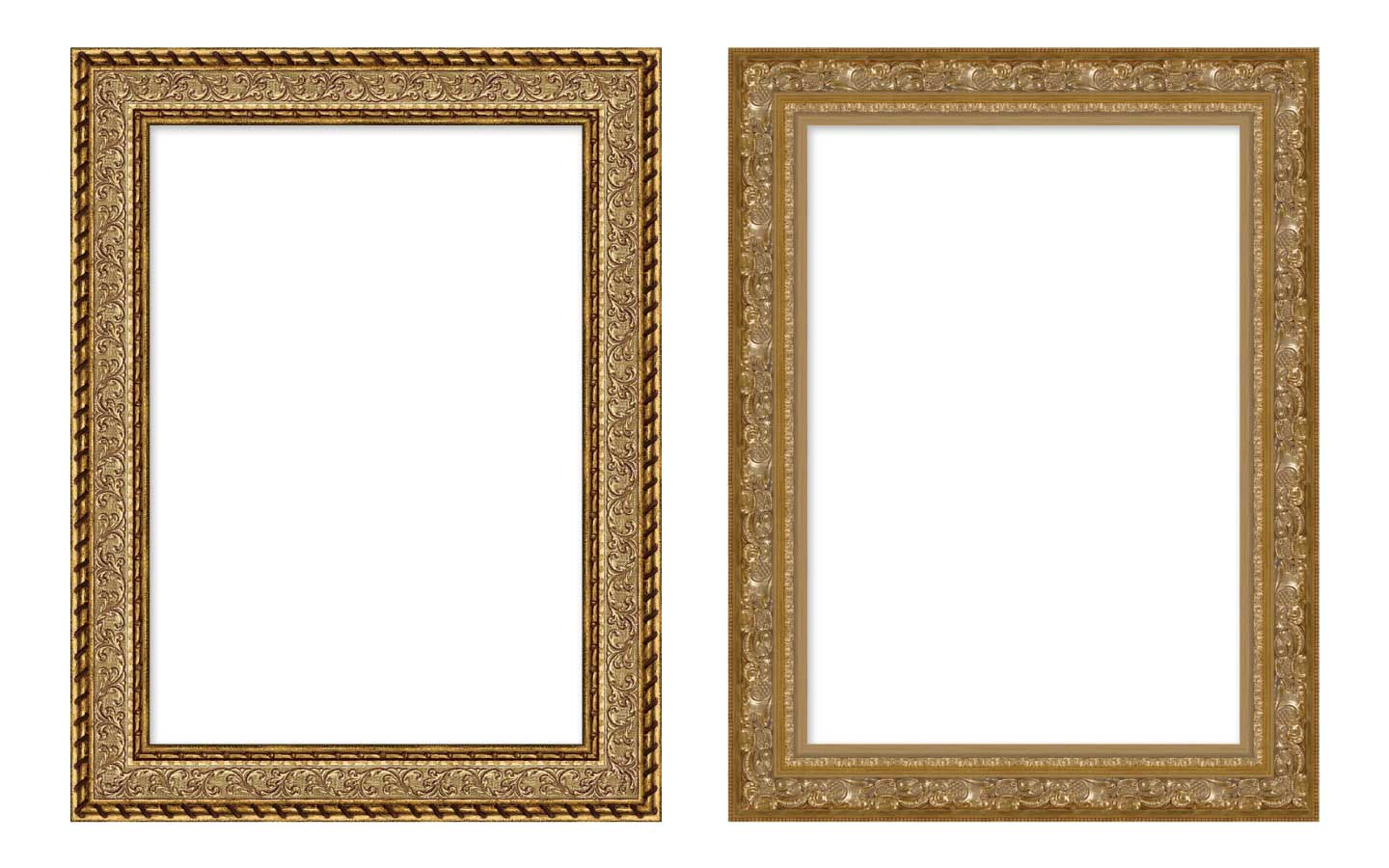 Renaissance styled frames available in ImageFramer