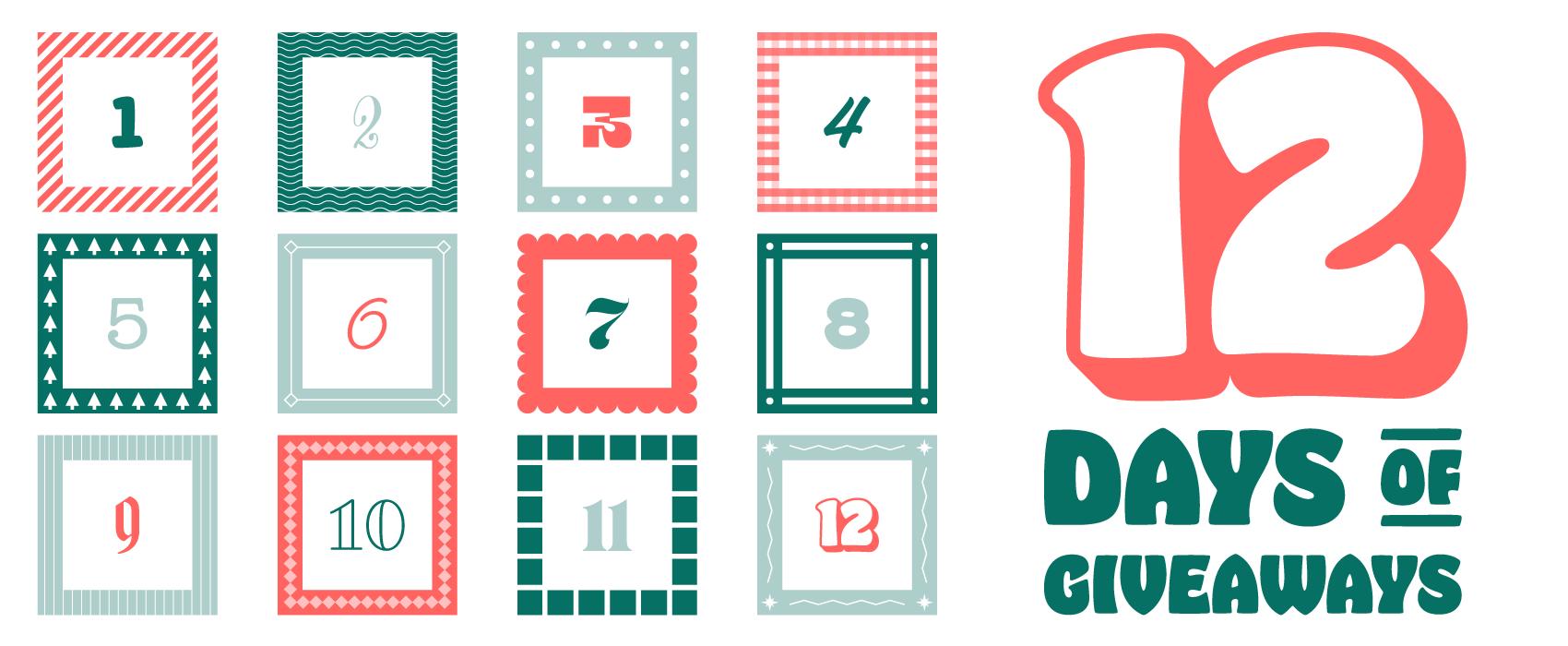 ImageFramer's 12 Days of Giveaways