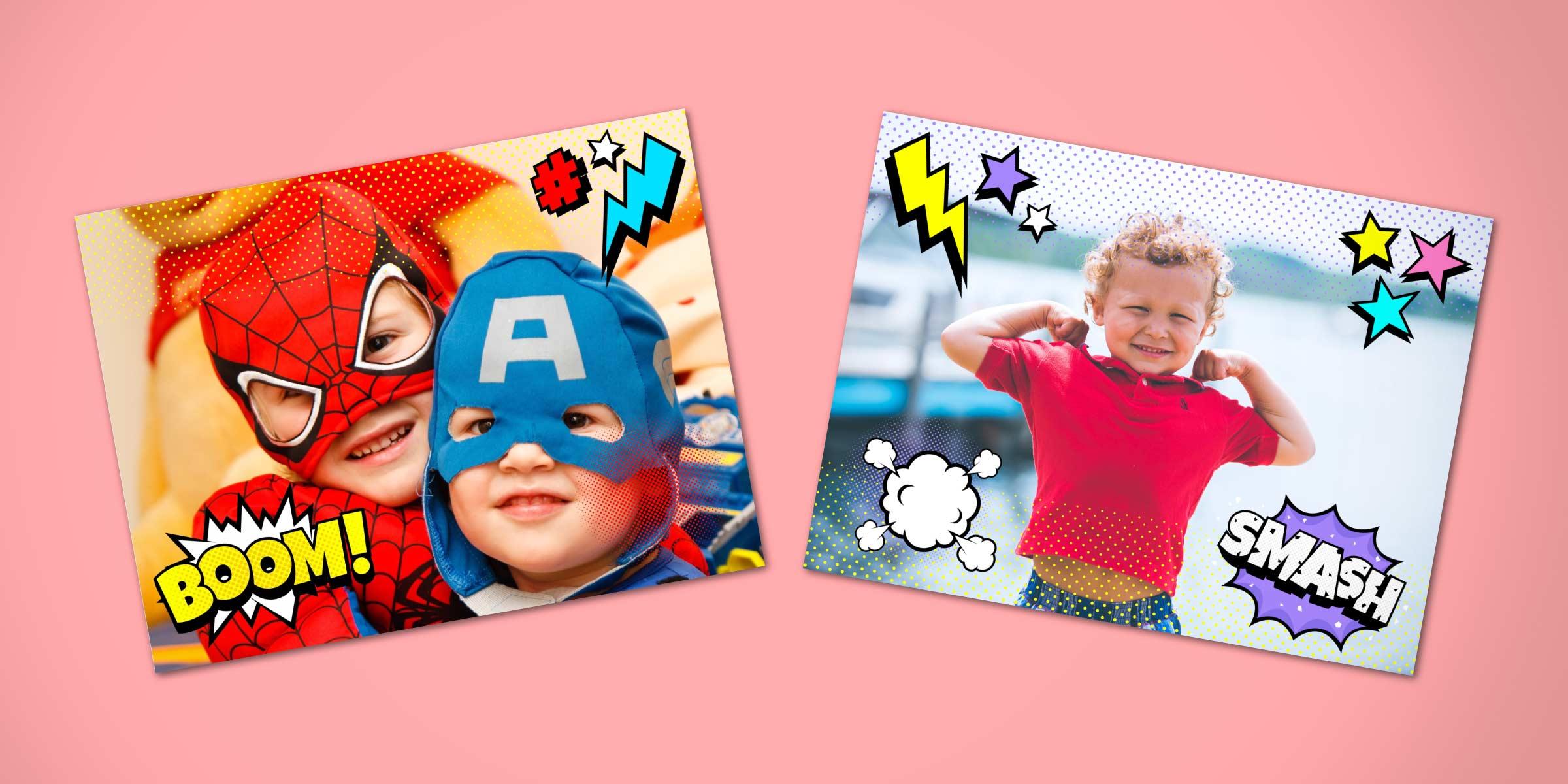 Comic frames for Mac in ImageFramer