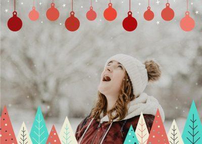 Winter frame for Mac available in ImageFramer